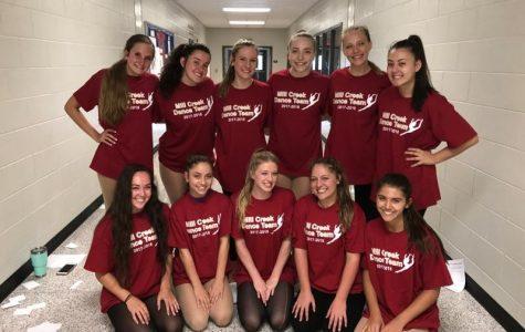 Mill Creek Dance Team Rehearsals