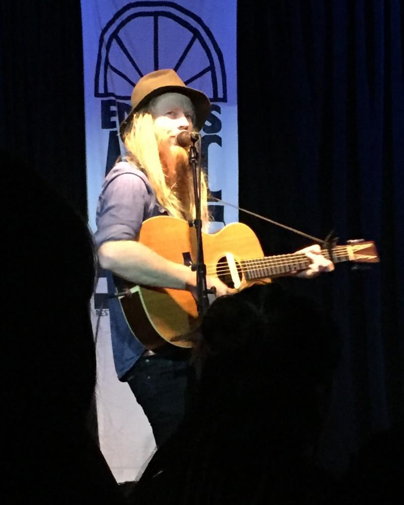Stu Larsen at Eddie's Attic on August 26.