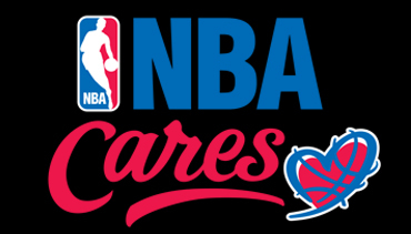 NBA Cares logo.