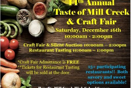 14th Annual Taste of Mill Creek and Craft Fair