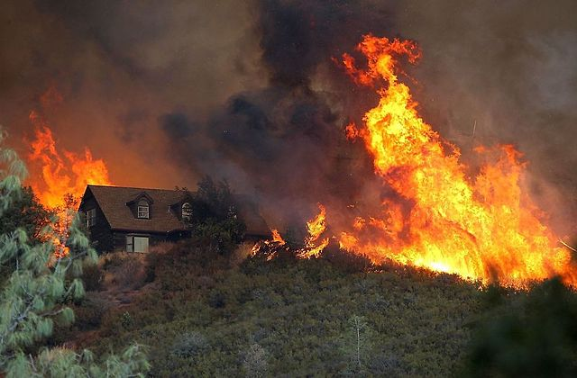 Southern California Ravaged By Wildfires