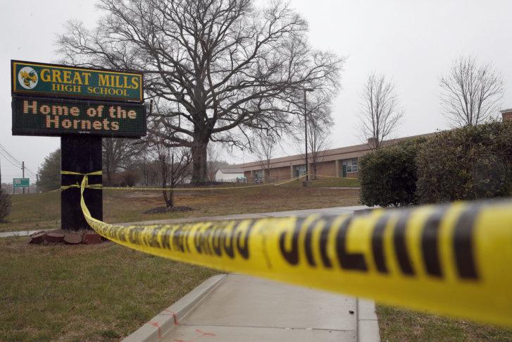 School Shooting in Maryland