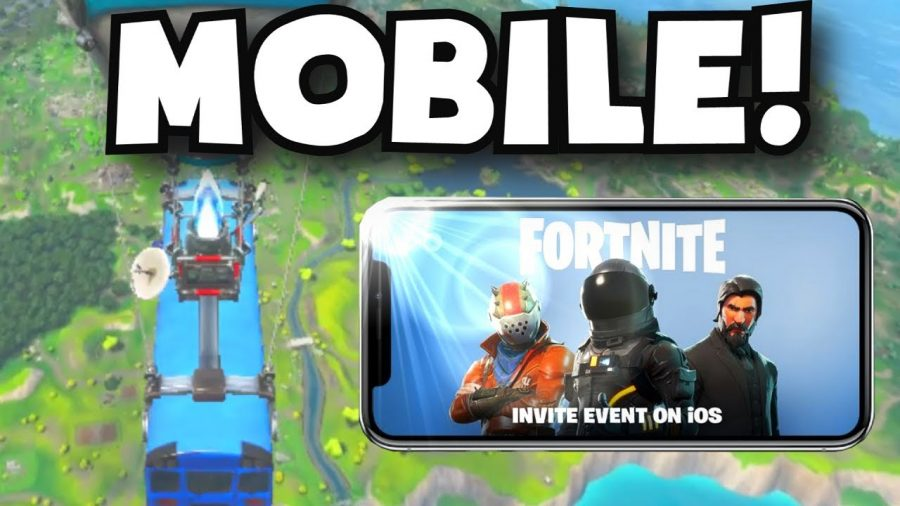 Fortinte coming to mobile