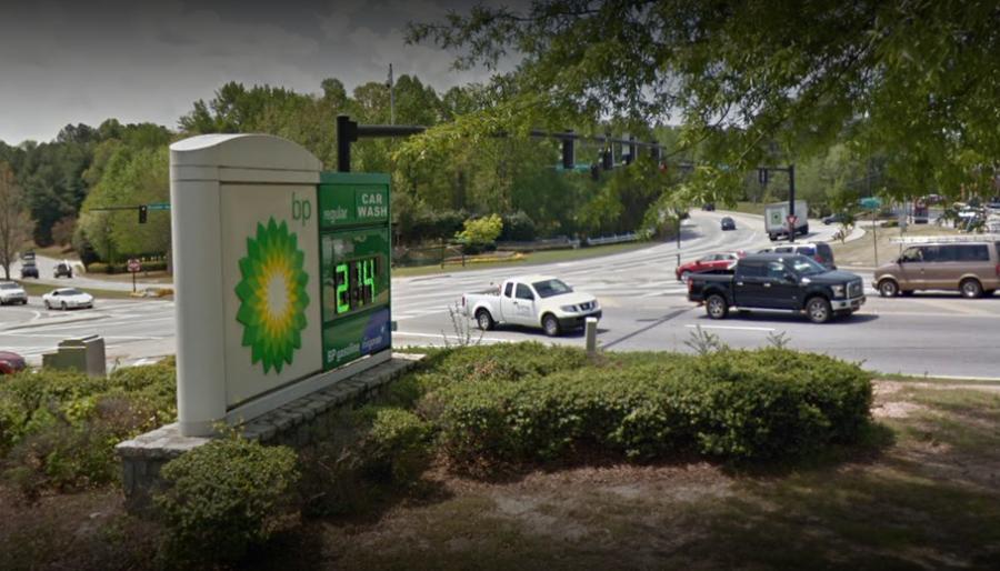 Gas Station near Hamilton Mill