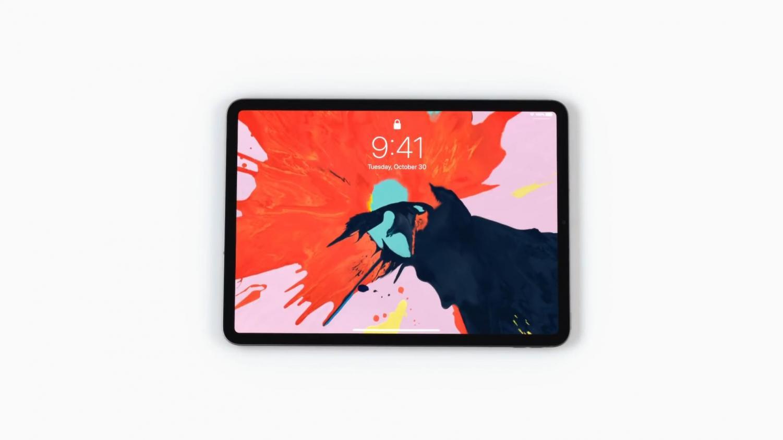 Apple's new iPad Pro.