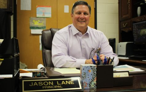 Greg Cantrell is Principal for a Day