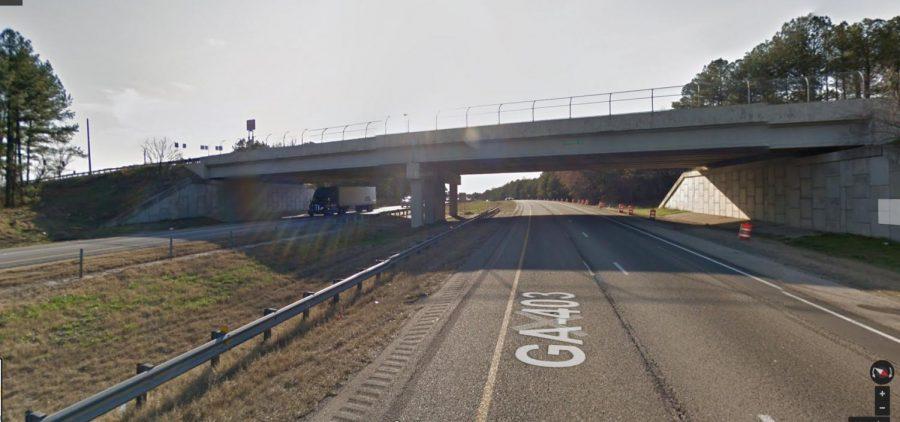 Accident Bridge at Hamilton Mill