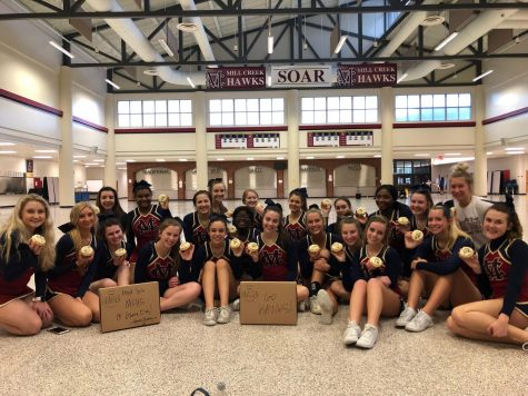Mill Creek Game Day Cheer Squad