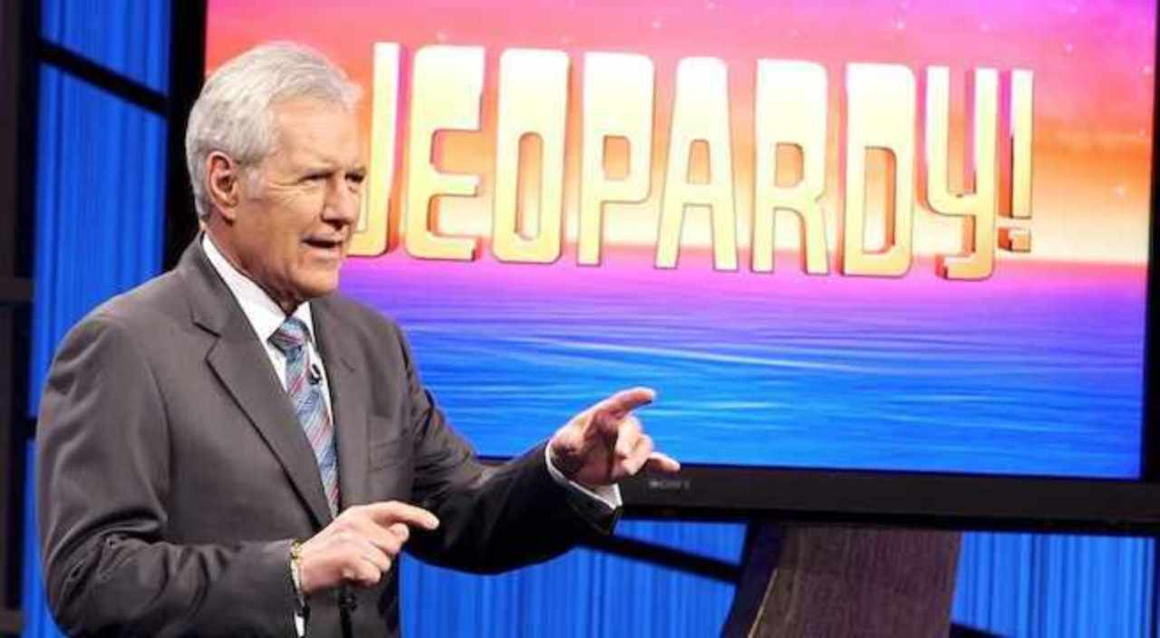 Alex Trebeck Hosting 'Jeopardy!'
