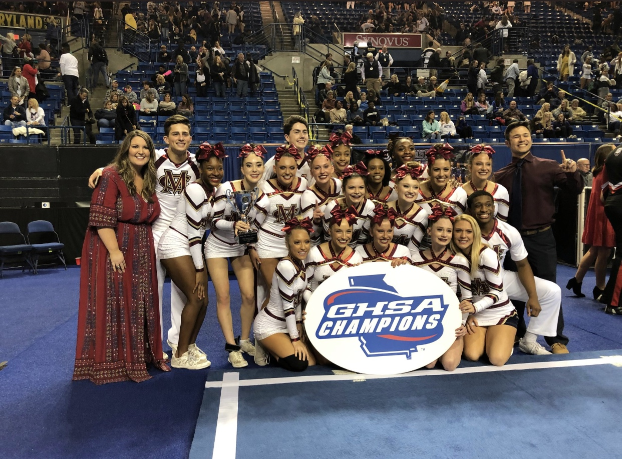The Mill Creek Cheer Hawks placed first in the COED division.