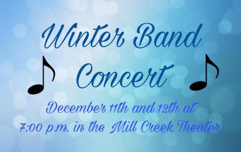 Mill Creek Winter Band Concert