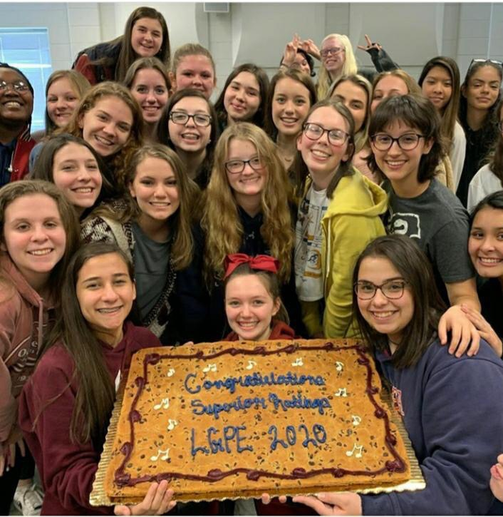 Advanced Women's Chorus Scores High at LGPE