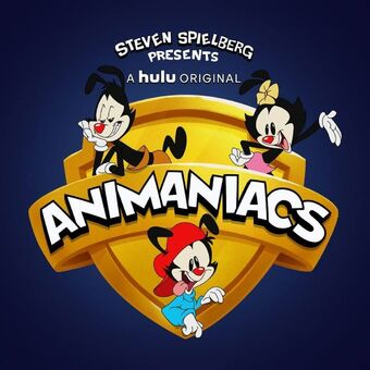 "Logo for the ""Animaniacs"" cartoon reboot in 2020."