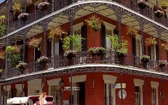 New Orleans - French Quarter 'Miltenberger House'