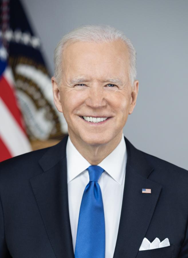 Official portrait of President Joseph R. Biden.