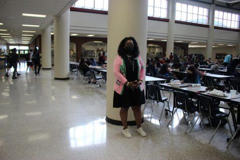 Mrs. Morton; new testing administrator here at Mill Creek High School.
