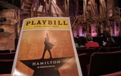 Hamilton will be playing at the Fox Theatre.