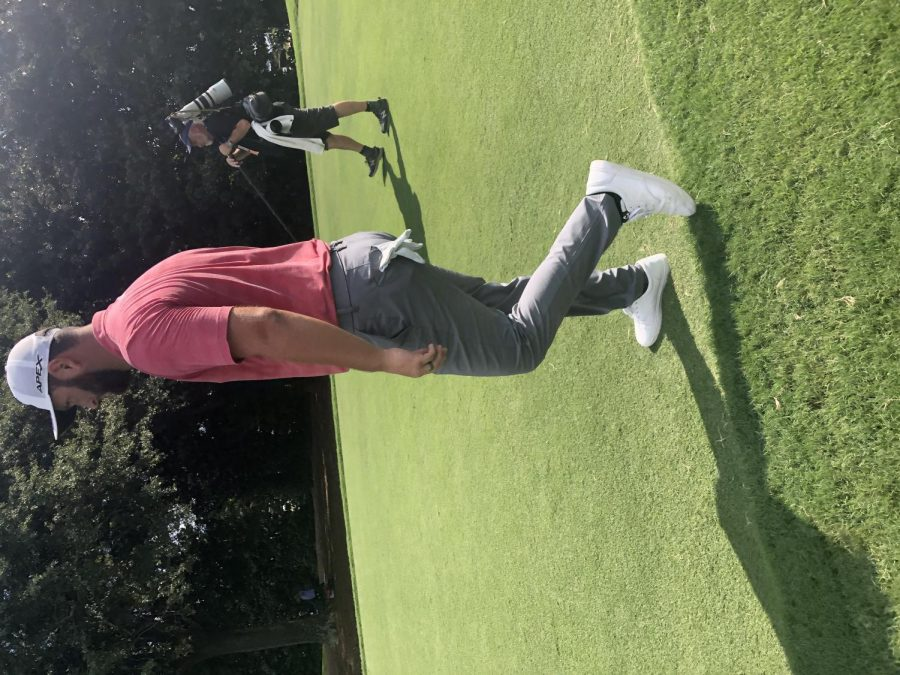 Jon Rahm placed second at the Tour Championship in Atlanta, Ga